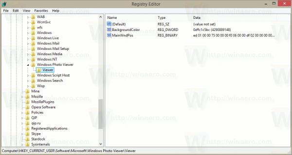 PVBC Registry Key