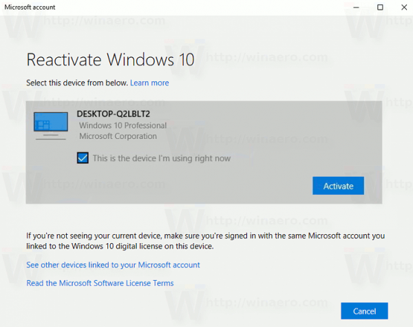 How to reactivate windows 10 after a hardware change reactivate windows 10 user interface ccuart Gallery