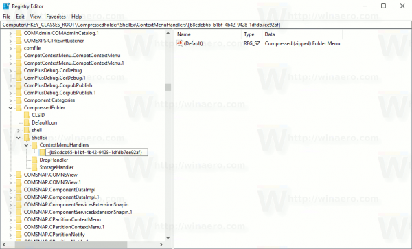 Remove Extract All From Context Menu In Windows 10