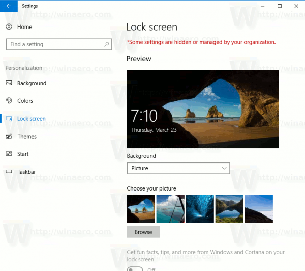 how to change screen saver password