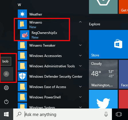 Start Menu Shortcuts For All Users In Action 2