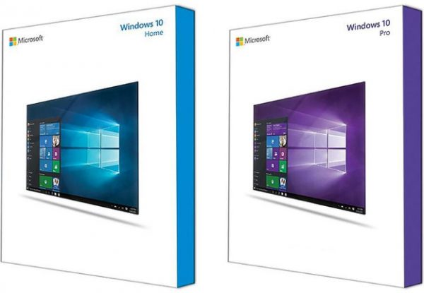 Windows 10 Retail Boxes