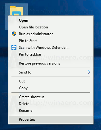 Windows 10 Airplane Mode Shortcut Properties