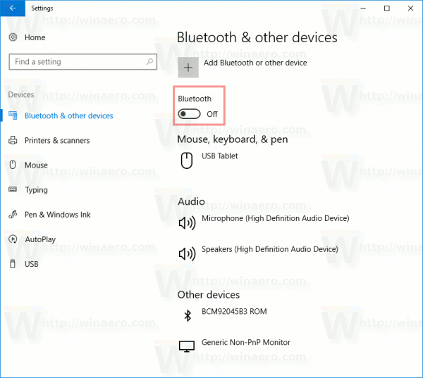 How to disable bluetooth in windows 10 windows 10 bluetooth disable in settings ccuart Images