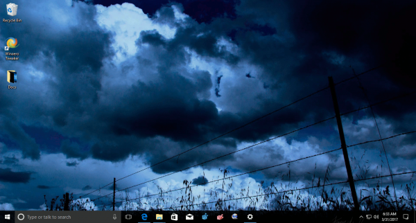 Windows 10 Dark Skies Theme 2