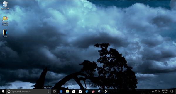 Windows 10 Dark Skies Theme 3