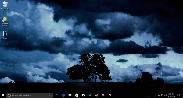 Windows 10 Dark Skies Theme 4