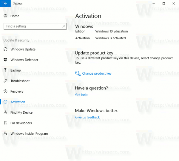 product key to activate my windows 10