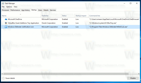 Windows Defender Security Center Loader