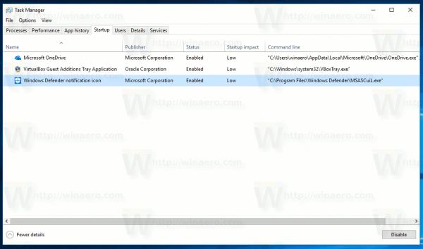 Windows Defender Security Center Loader