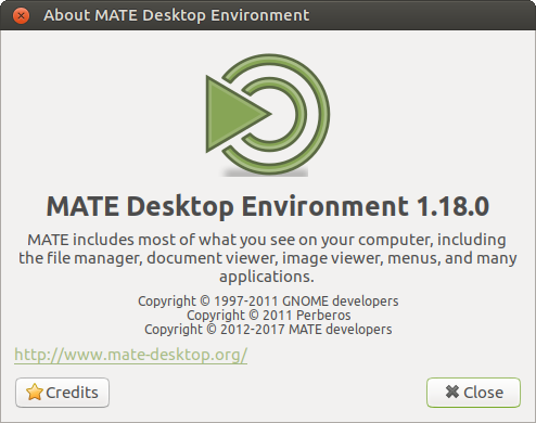 About Mate 1.18