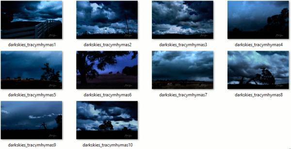 Dark Skies Wallpapers