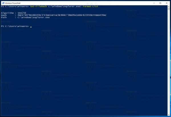 Get File Hash Demo