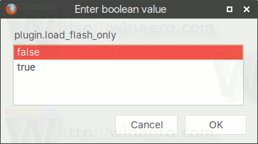 Plugin Load Flash Only False