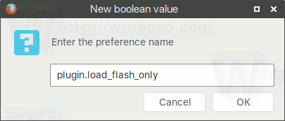 Plugin Load Flash Only