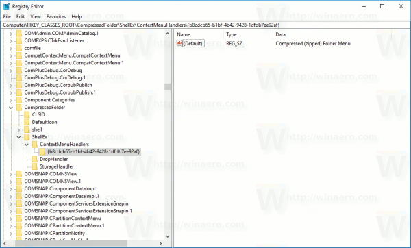 Zip Extract All Registry Path