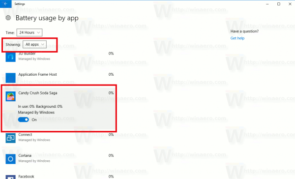 Battery App Managed By Windows