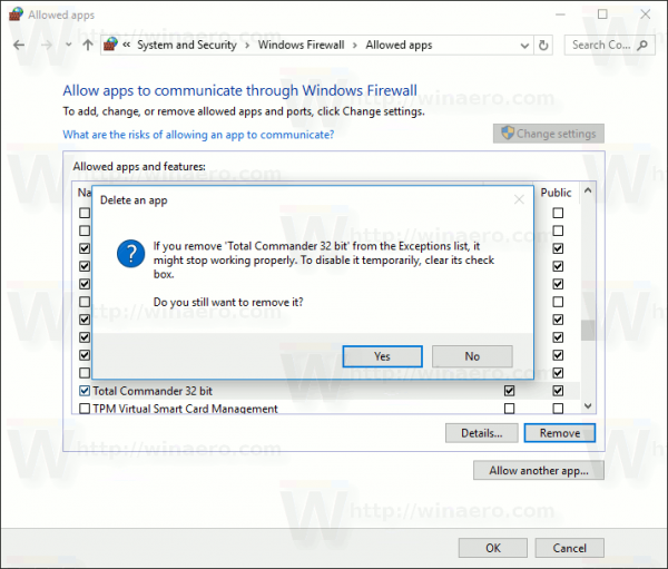 Block Apps In Windows Firewall In Windows 10