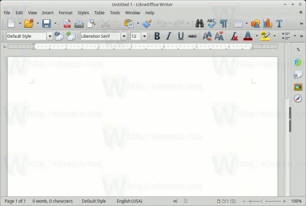 Colorful Icons Libre Office Linux Mint