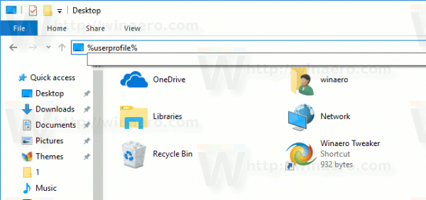 How to Move the Desktop Folder in Windows 10