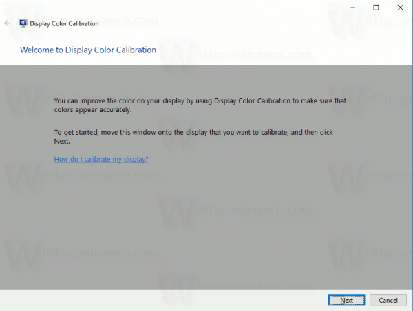 How To Calibrate Display Colors In Windows 10