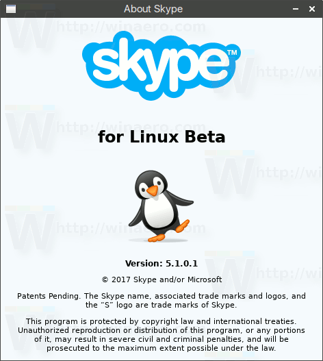 Skype For Linux Beta 5.1