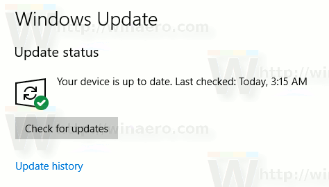 Windows 10 Update Icon