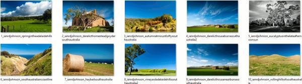 Australian Landscapes Theme
