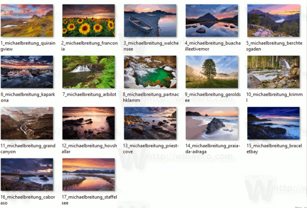 Magic Landscapes Themepack Wallpapers