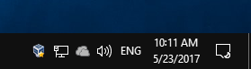Windows 10 Always Show All Tray Icons