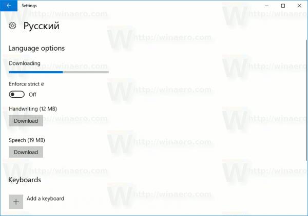 Windows 10 Download Language Pack In Progress