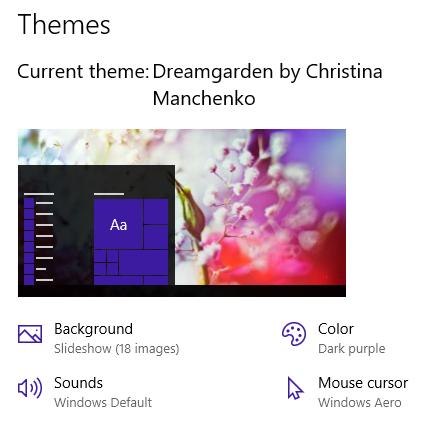 Dreamgarden Themepack Banner