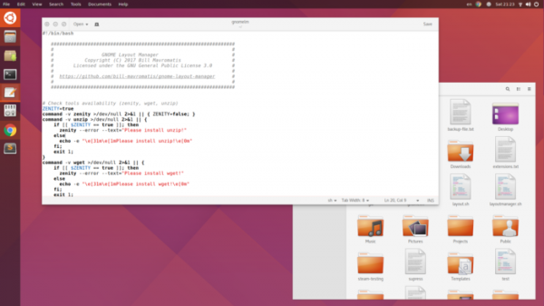 GNOME Layout Manager: Get Windows 10, macOS or Ubuntu look in Gnome 3