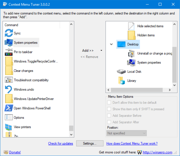 how to add to the right click menu windows 10