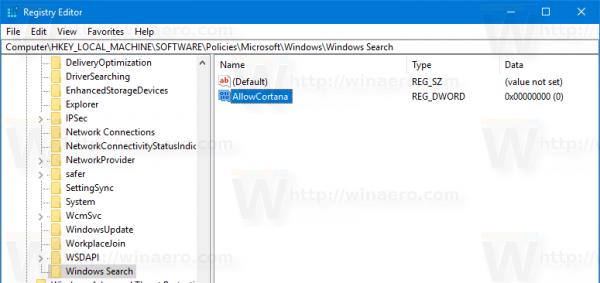 windows 10 remove cortana process