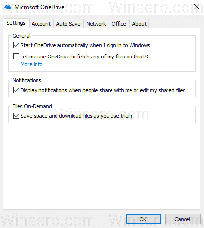 Enable OneDrive Files On Demand