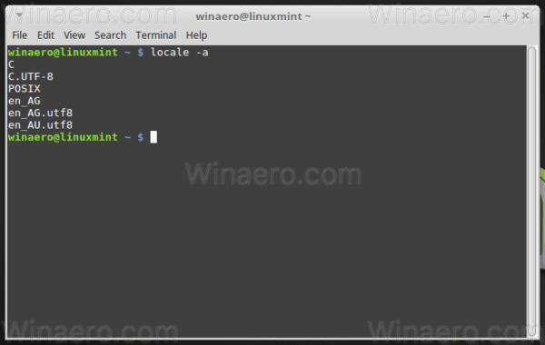 How to Add a Locale in Linux Mint