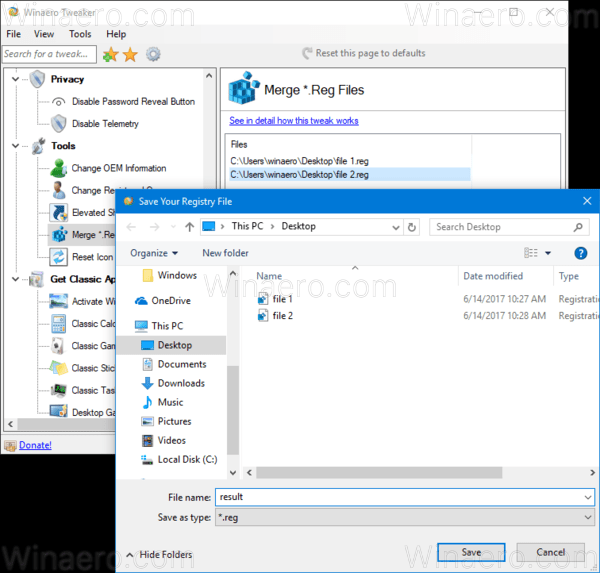 how to combine 2 files into pdf