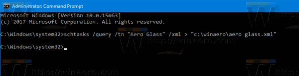 Windows 10 Backup Task Cmd