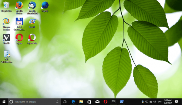 Windows 10 Forests Themepack 1