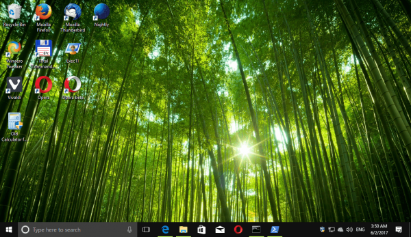 Windows 10 Forests Themepack 2