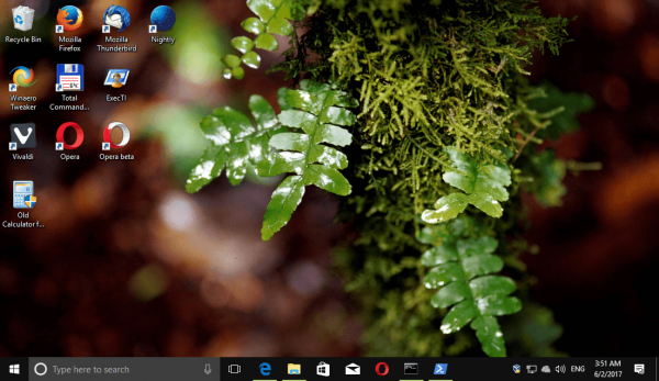 Windows 10 Forests Themepack 4
