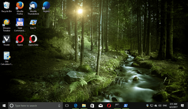 Windows 10 Forests Themepack 5