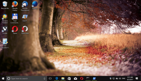Windows 10 Forests Themepack 6