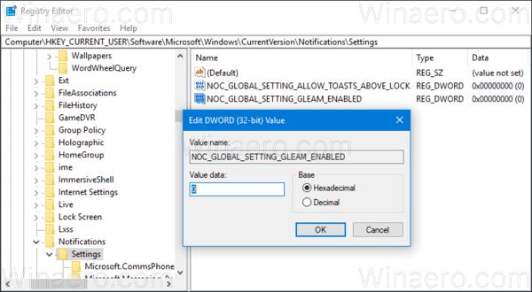 Windows 10 Hide App Notification Icons