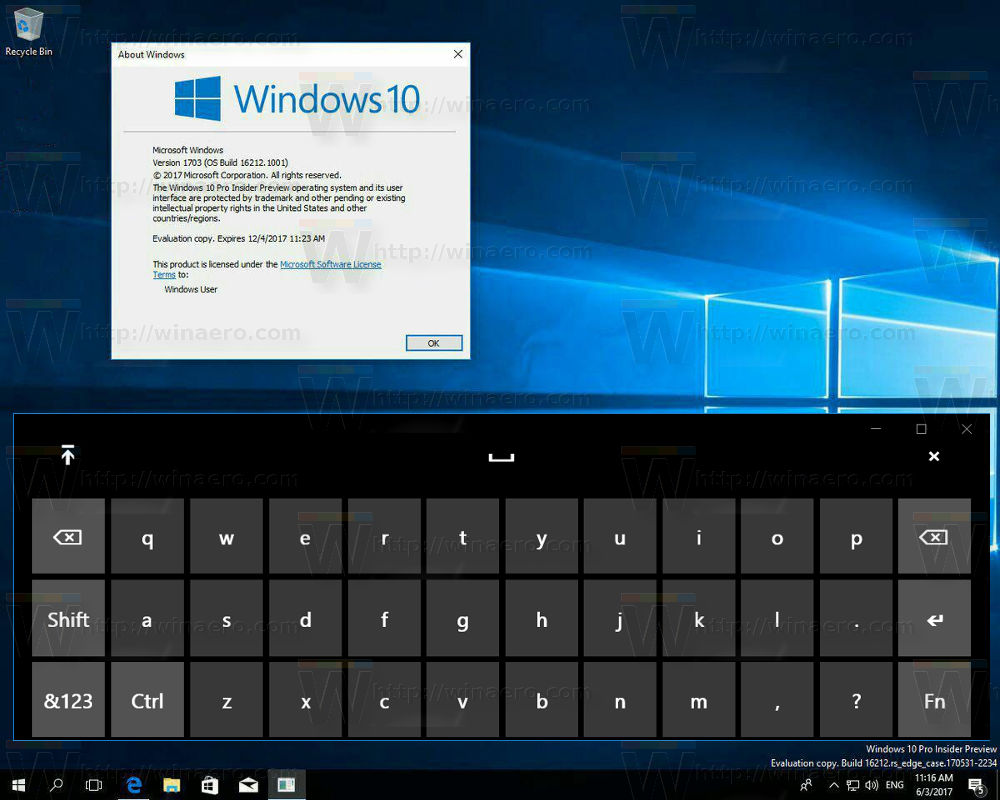 new features of the keyboard app in windows 10 fall creators update. Black Bedroom Furniture Sets. Home Design Ideas
