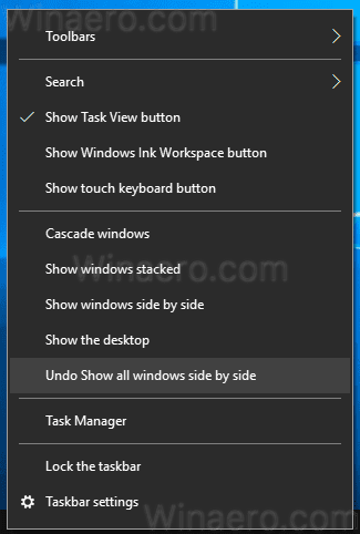 How To Show Windows Side By Side In Windows 10 Winaero