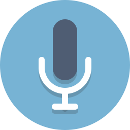 Microphone Dictation Speech Icon