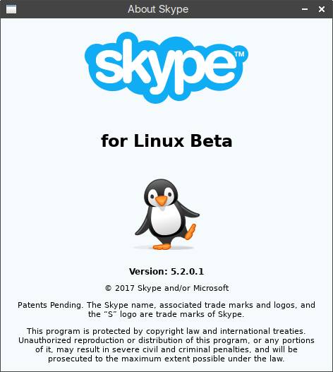 Skype For Linux 5.2