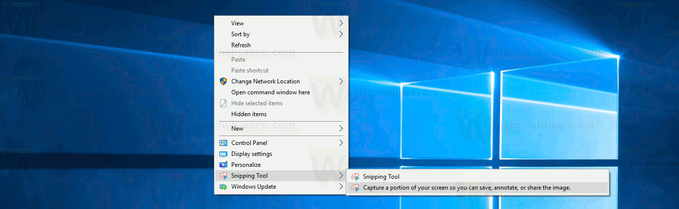 how to use snipping tool in windows 10